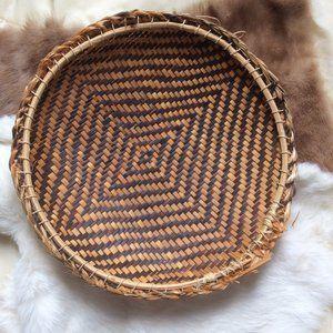 Boho Weave Decor Basket